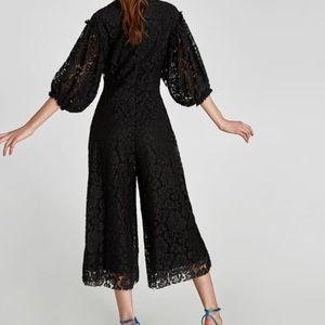 Zara lace jumpsuit